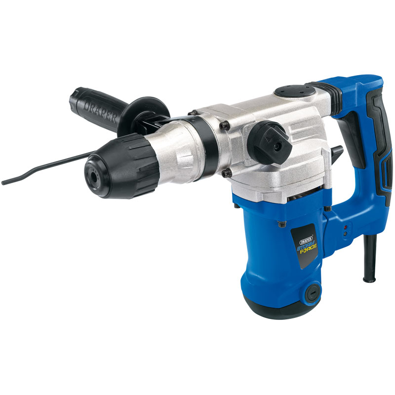 Storm Force® SDS+ Rotary Hammer Drill Kit with Rotation Stop (1250W) – Now Only £87.03