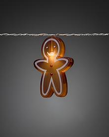 Mini Light Set 8 Gingerbread Children -  – Now Only £15.00