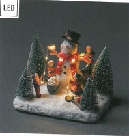 NEW Fibre Optic Snowman and children Decoration – Now Only £10.00