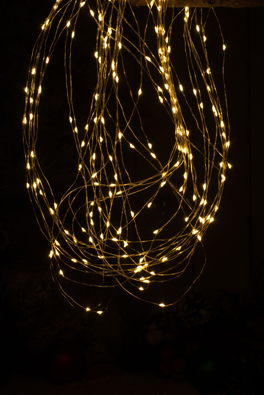 200cm Branch Light - Copper wire - Amber LED – Now Only £12.00