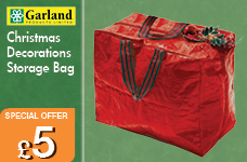 Christmas Decorations Storage Bag  – Now Only £5.00
