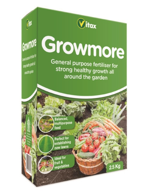 Growmore 2.5kg – Now Only £4.50