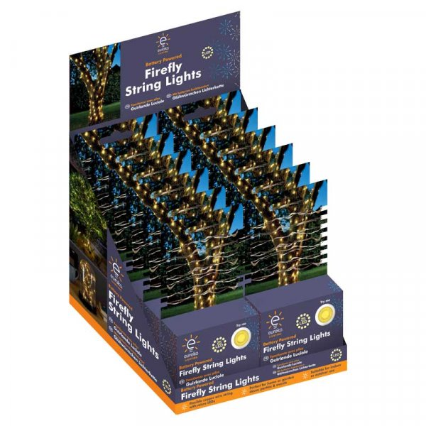 100 Battery Firefly String Lights – Now Only £8.00