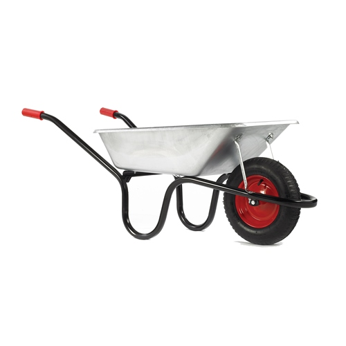 Camden Classic Galvanised 85L Pneumatic Barrow – Now Only £35.00