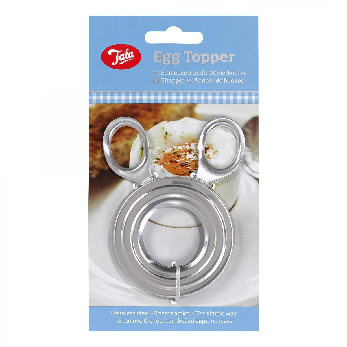Stainless Steel Egg Topper – Now Only £2.50