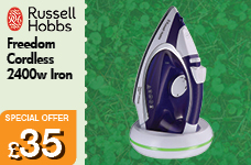 Freedom Cordless Iron 2400w – Now Only £35.00