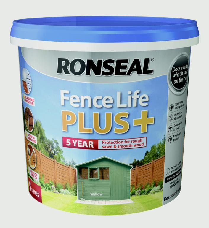 Fence Life Plus 5L  - Willow – Now Only £9.00