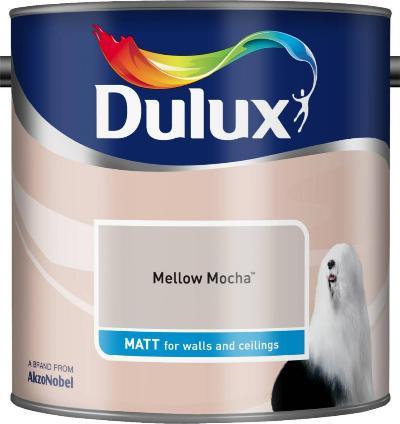 2.5 Litre Matt Emulsion - Mellow Mocha – Now Only £15.00