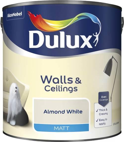 2.5 Litre Matt Emulsion - Almond White – Now Only £15.00