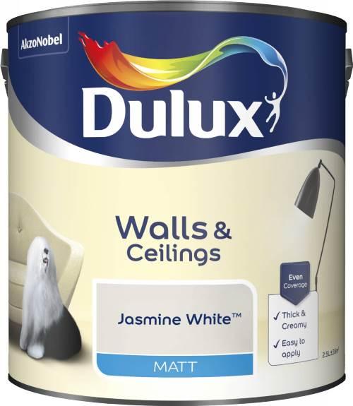 2.5 Litre Matt Emulsion - Jasmine White – Now Only £15.00