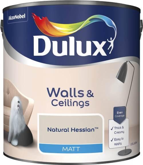 2.5 Litre Matt Emulsion - Natural Hessian – Now Only £15.00