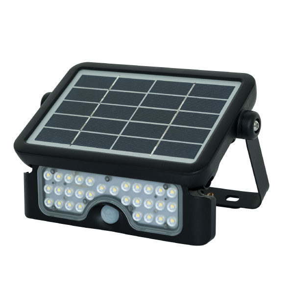 Solar Guardian PIR Floodlight Black – Now Only £28.00