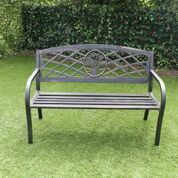 Steel Daffodil Bench – Now Only £69.00