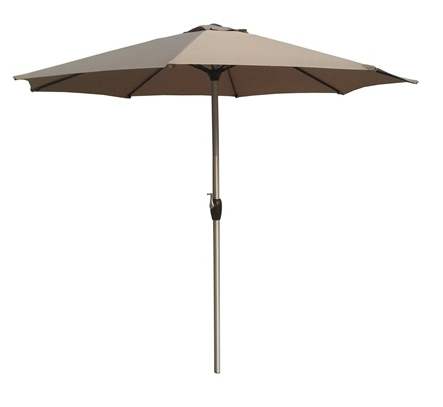 2.7M Parasol - Cream  – Now Only £45.00