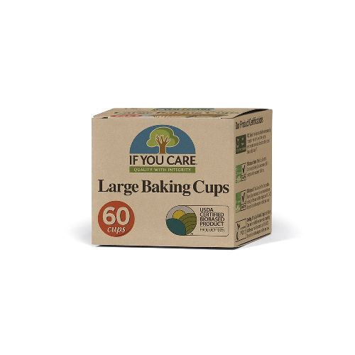 FSC Certified Large Baking Cups X 60  – Now Only £2.00