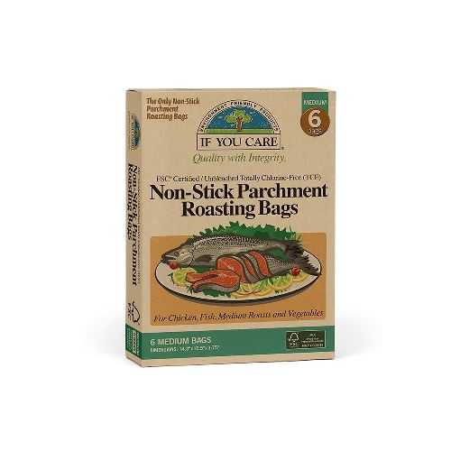 Non Stick Parchment Roasting bags - Pack of 6 – Now Only £6.00