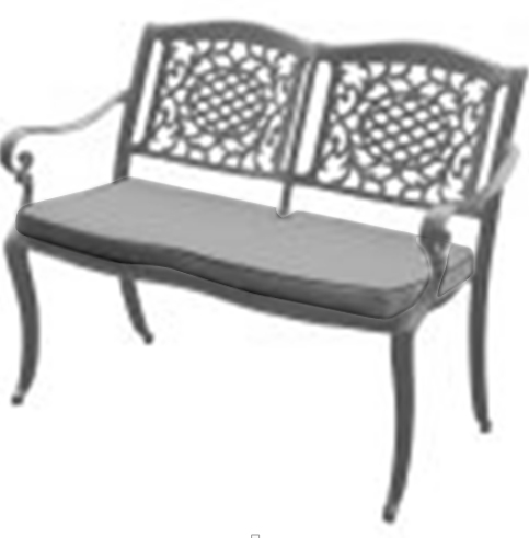 Ballygowan Stacking Bench - Hammered Grey – Now Only £169.00