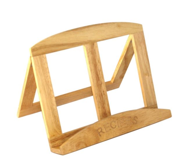 Naturals Wooden Cook Book Stand – Now Only £8.00