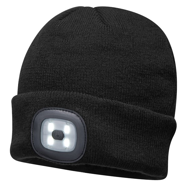 Beanie LED Head Light Hat - BLACK – Now Only £8.00