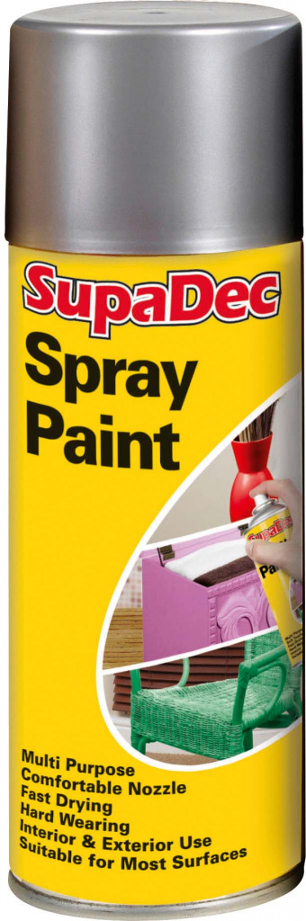 Spray Paint  - Silver 400ml  – Now Only £3.00