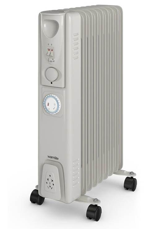 2000w Oil Filled Radiator - WHITE – Now Only £34.00