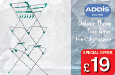 Addis Deluxe Three Tier Airer – Now Only £25.00