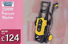 2200W Pressure Washer – Now Only £124.00