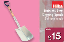 Stainless Steel Digging Spade  – Now Only £15.00