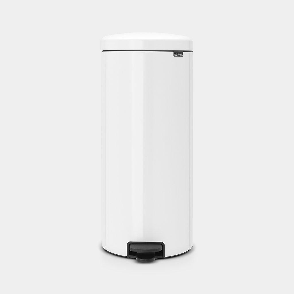 30 Litre Kitchen Pedal Bin - White – Now Only £49.00