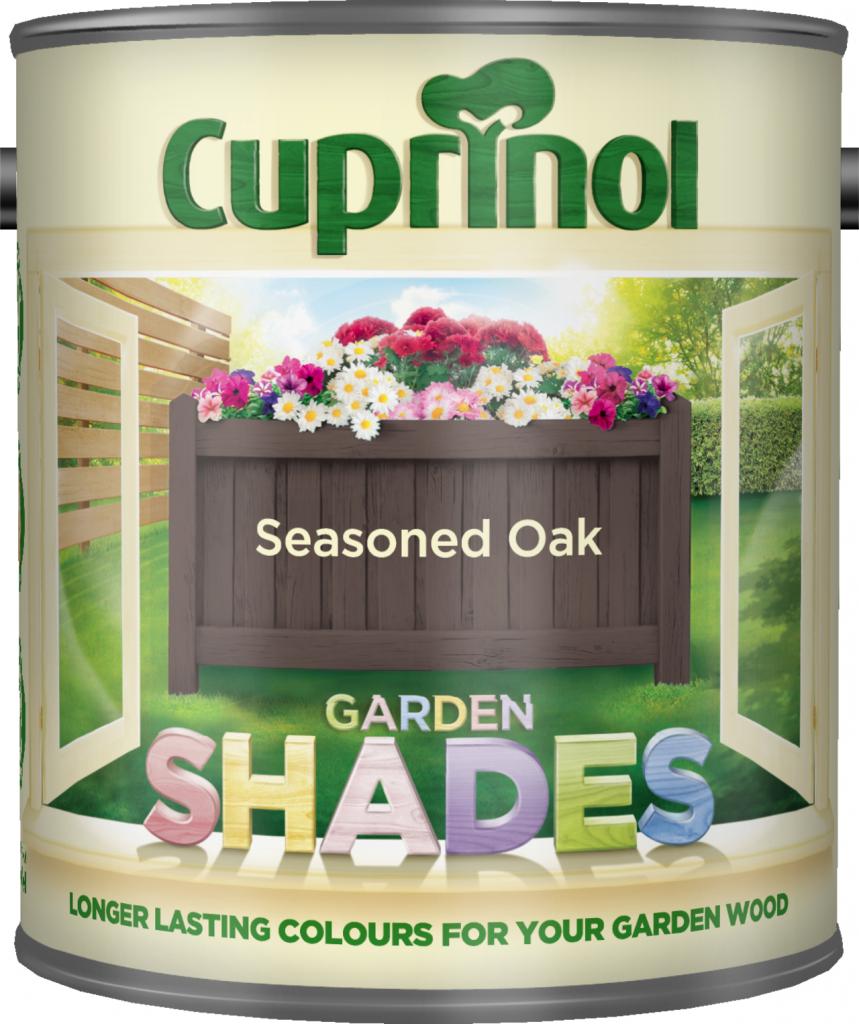 1 Litre Garden Shades - Seasoned Oak – Now Only £10.00