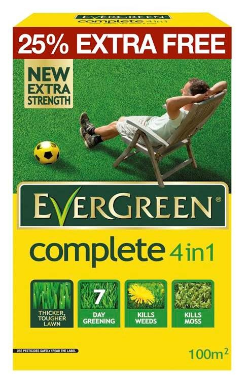 4 in 1 Lawn Care - 80m2 PLUS 25% Free – Now Only £10.00