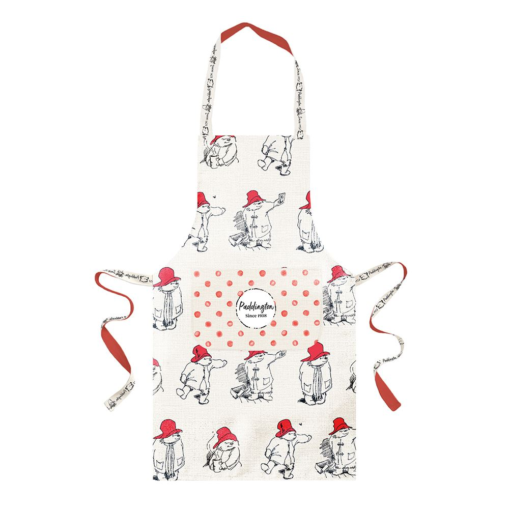 Paddington Bear Adult Apron - Red – Now Only £10.00