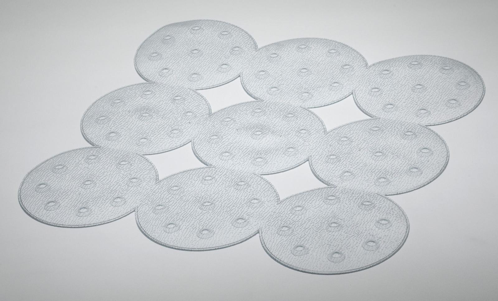 Dotty Shower Mat - Clear – Now Only £5.00