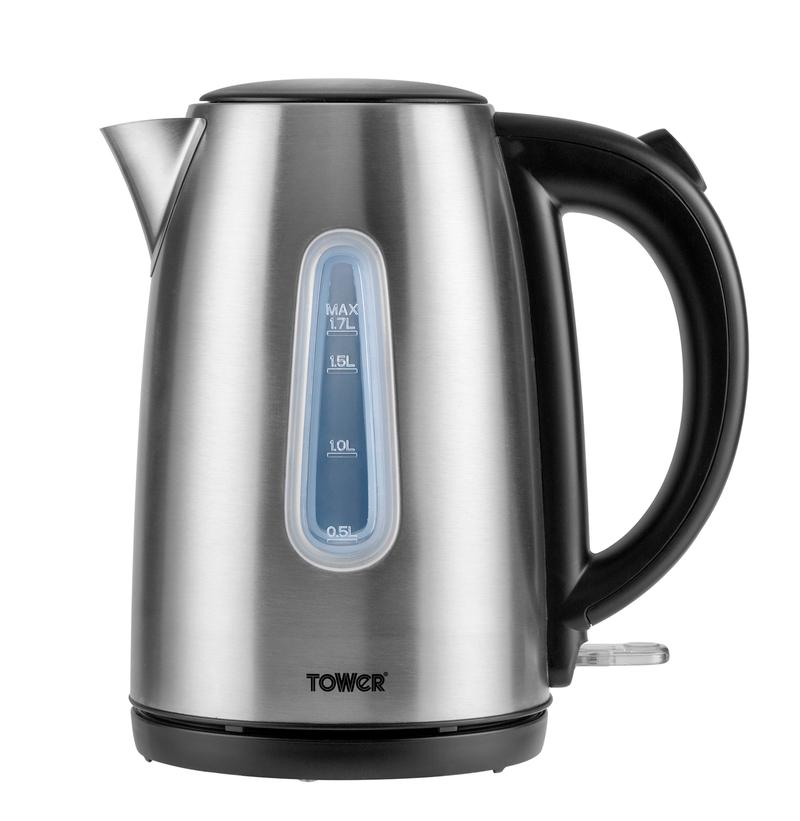 3KW Infinity Brushed Stainless Steel Jug Kettle – Now Only £20.00