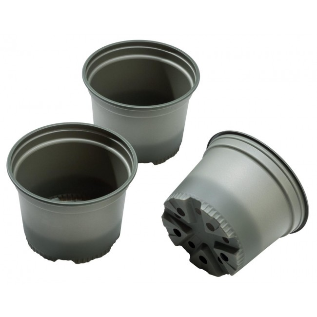 Bio-Based Round Growing Pots - Pack of 5 – Now Only £2.00