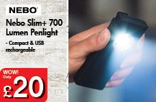 Nebo Slim+ 700 Lumen Penlight – Now Only £20.00